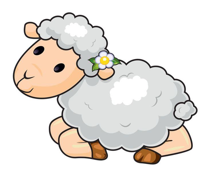 736x610 Sheep Clipart