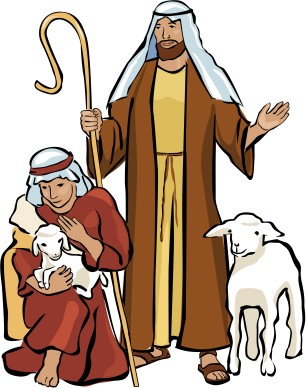 306x388 Shepherds In The Field Christmas Clipart