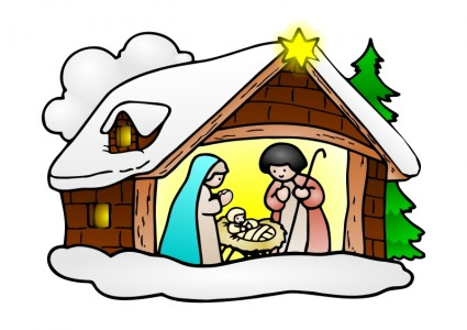 425x300 28+ Collection Of Jesus Geburt Clipart High Quality, Free