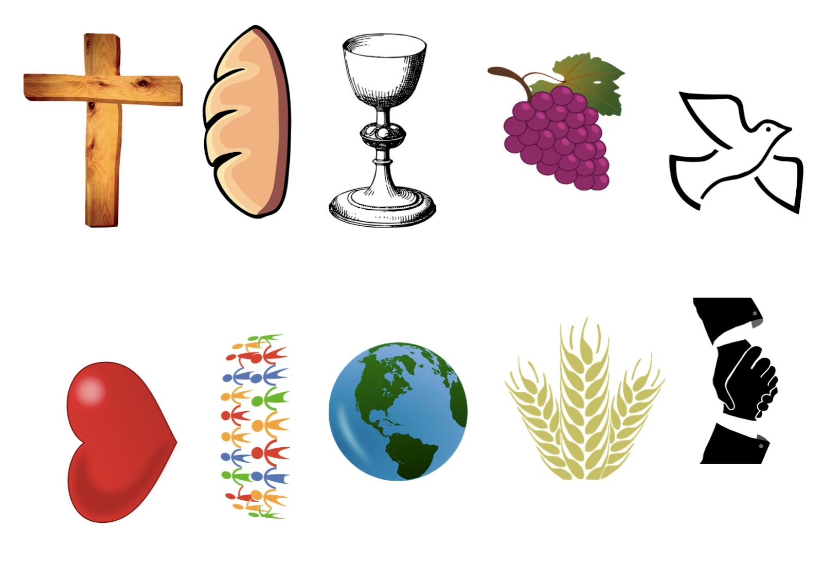 1600x1132 Flame Creative Children's Ministry Holy Communion Symbols