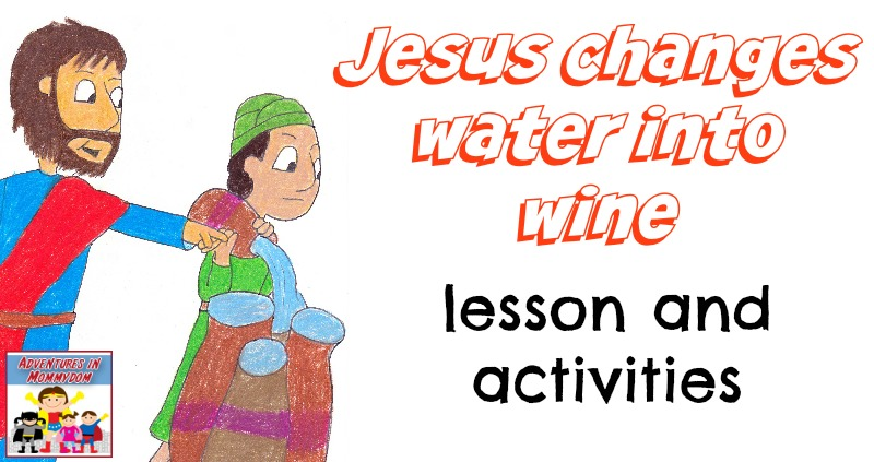 800x423 Jesus Changes Water Into Wine Craft And Lesson