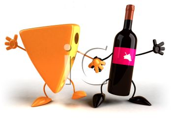 350x263 Wine And Cheese Clipart