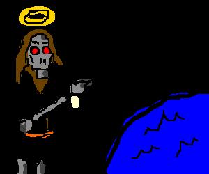 300x250 Cyborg Jesus Turns Water Into Oil