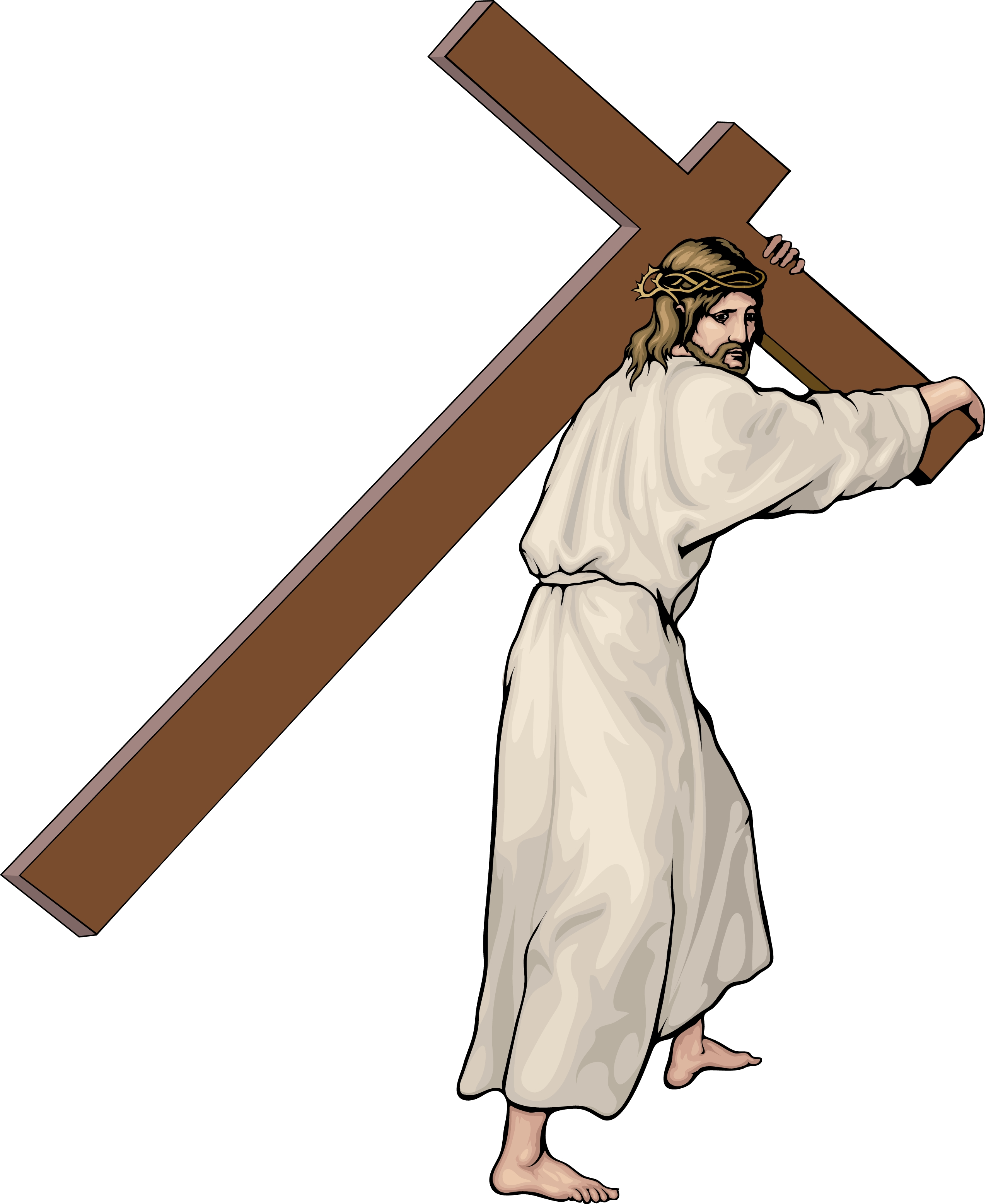 2550x3112 Dazzling Stations Of The Cross Clipart