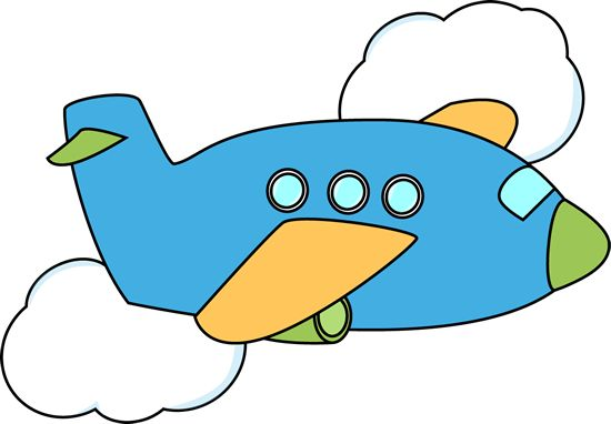 Jet Airplane Clipart