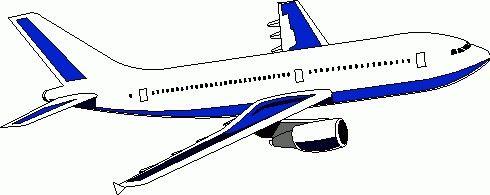 490x195 Airplane Clipart Clip Art Transportation.