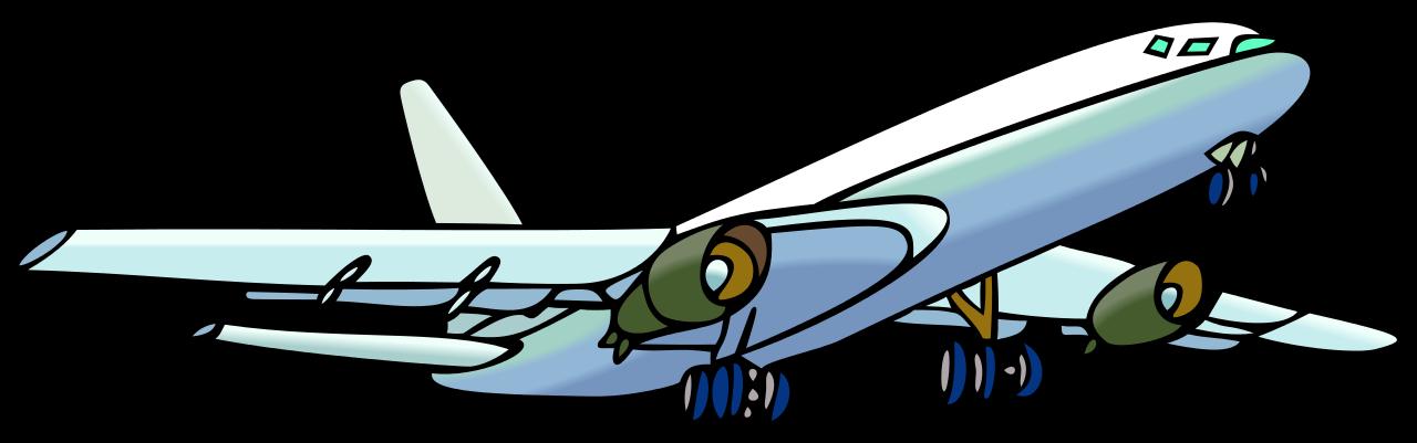 1280x401 Fileairplane Clipart.svg