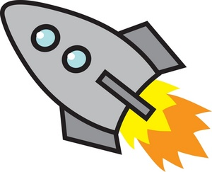 300x243 Free Rocket Clipart Image 0071 0904 0120 1033 Airplane Clipart