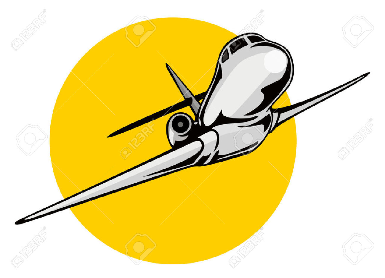 1300x939 Aircraft Take Off Clipart