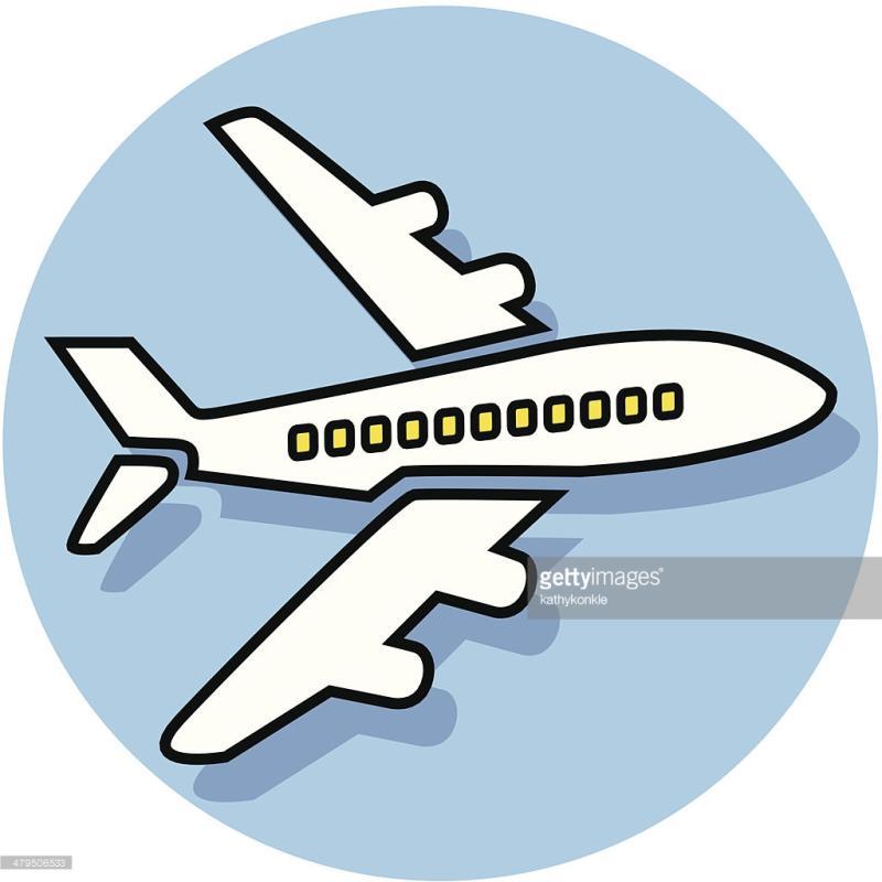 800x800 Jet Plane Clipart