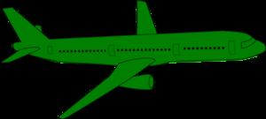 300x135 Airplane Clip Art