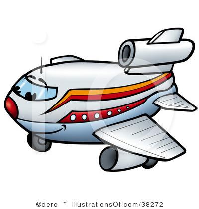 400x420 Clipart Jumbo Jet