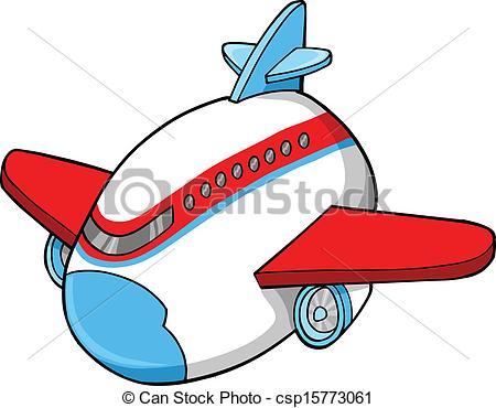 450x370 Cute Jumbo Jet Vector Illustration Art Clip Art Vector