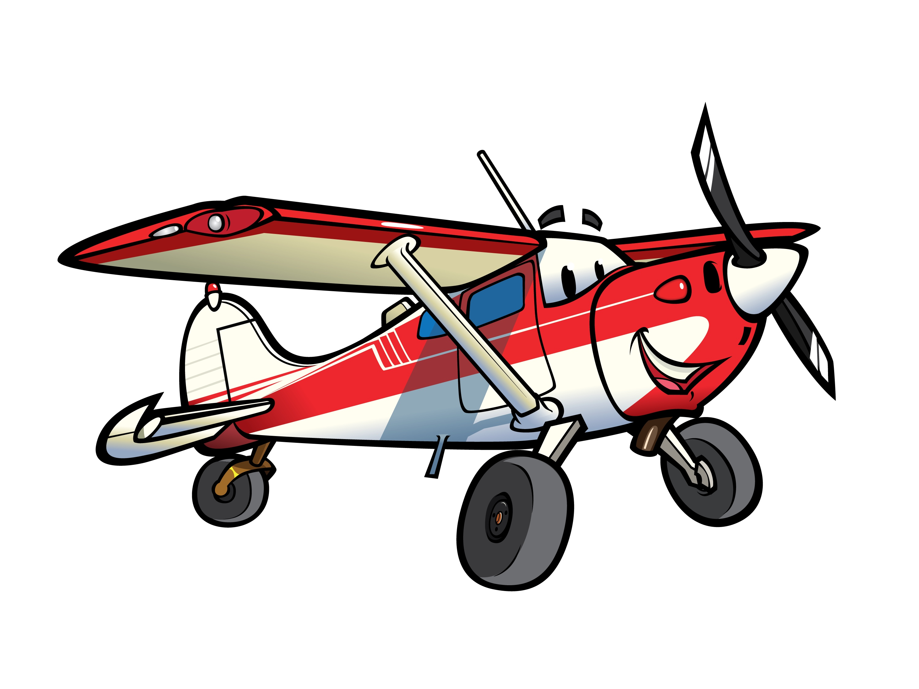3000x2250 Jet Fighter Clipart Cessna Airplane