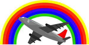 300x152 Jet Clipart Airplane Flying