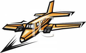 300x185 Private Jet Clipart