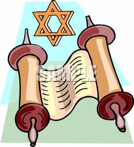 275x300 Jewish Clipart Torah