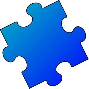 300x300 Free Clipart Puzzle Piece Shapes