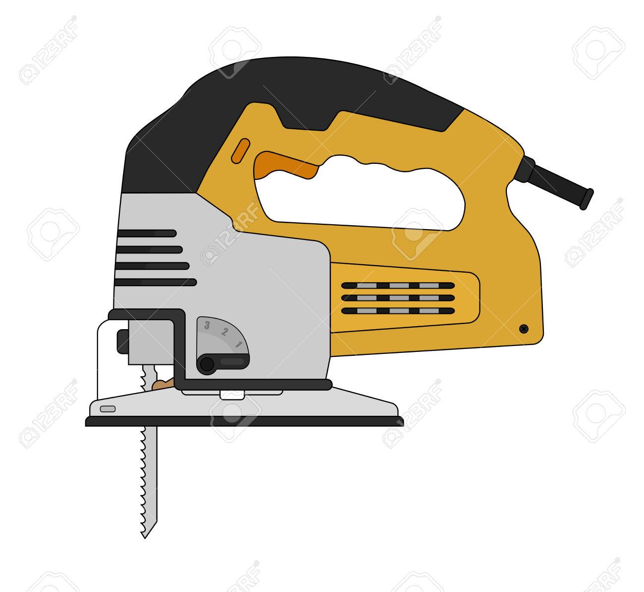 1300x1196 Jigsaw Tool Clipart