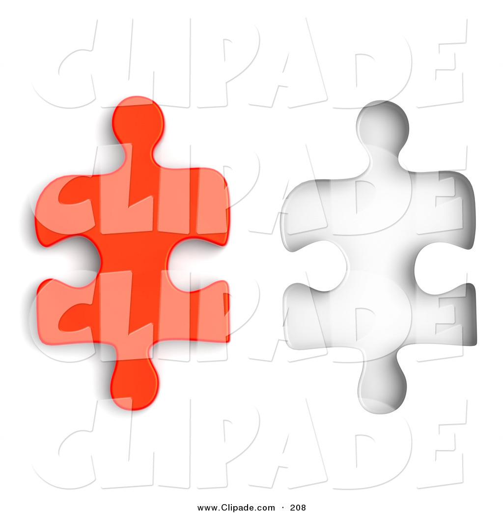 1024x1044 Clip Art Of A Red 3d Jigsaw Clipart Panda