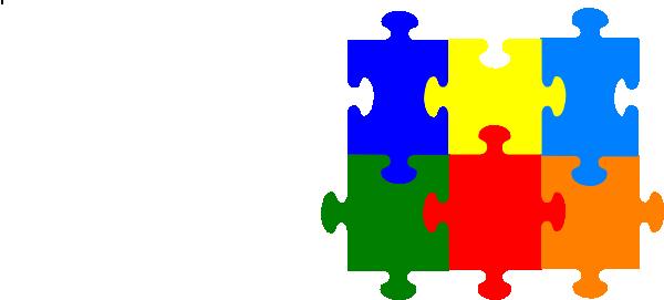 600x271 Jigsaw Puzzle 6 Pieces Png, Svg Clip Art For Web