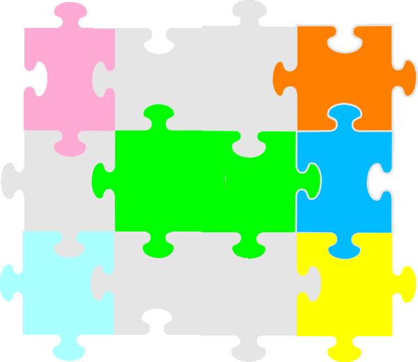 600x519 Jigsaw Puzzle Clip Art