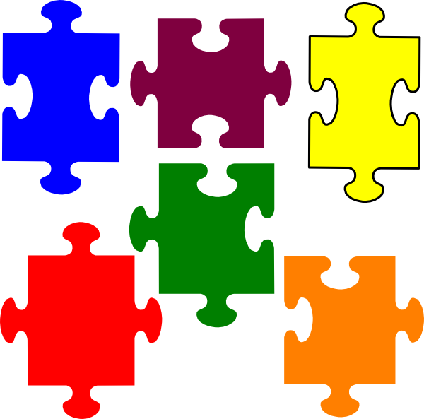 600x593 Jigsaw Puzzle Clip Art