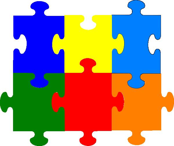 600x505 Jigsaw Puzzle Pieces Clip Art Picture