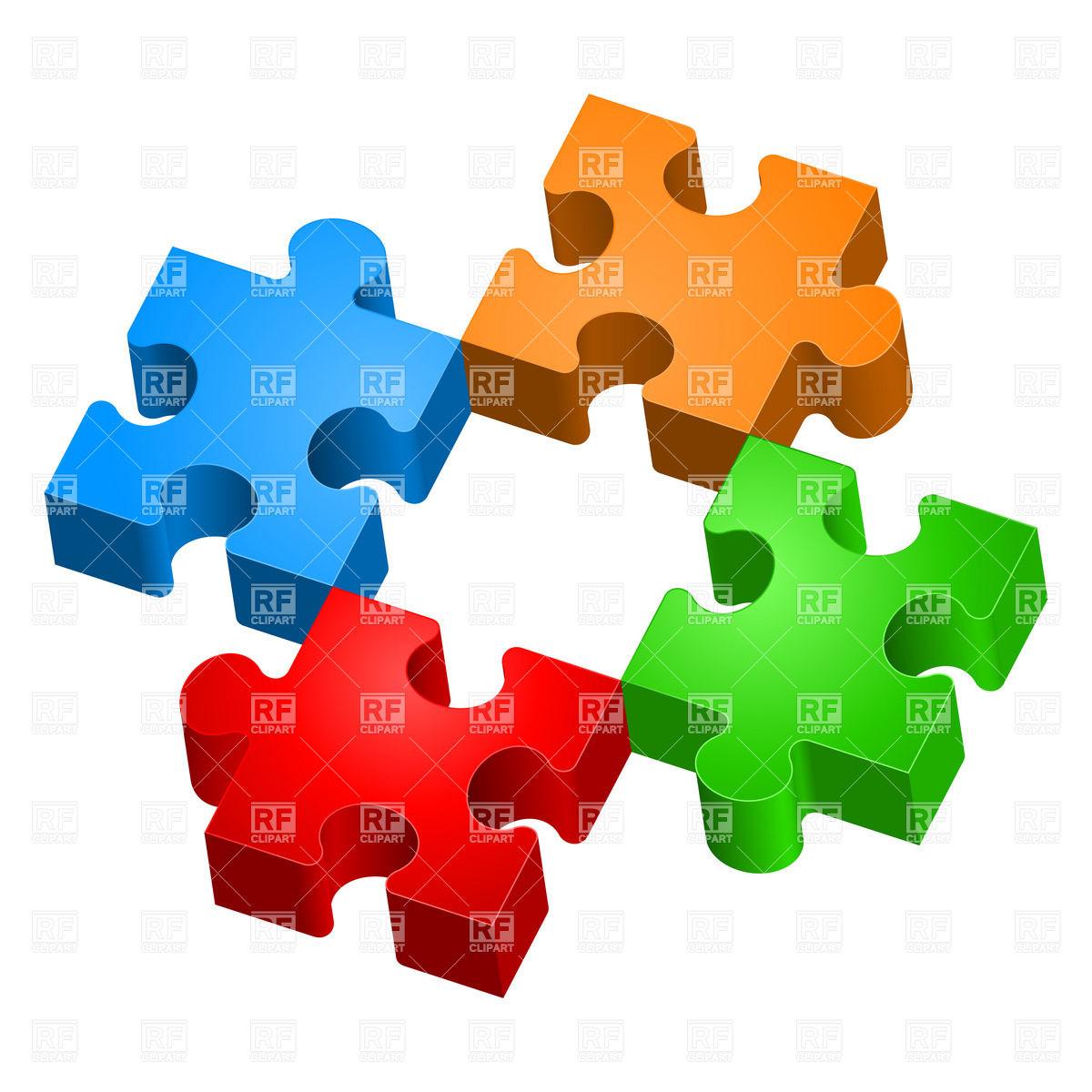 1200x1200 Puzzle Pieces Clipart