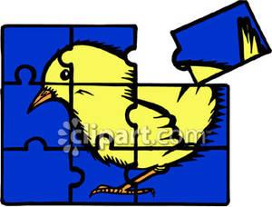 300x228 Puzzle Clipart Bird