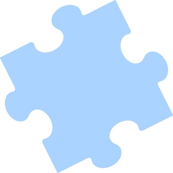 600x600 Puzzle Clipart Outline