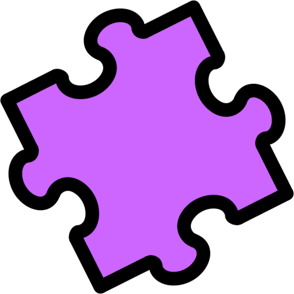 600x600 Puzzle Piece Gallery For 3 Jigsaw Clip Art Image 2