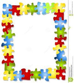 236x265 Free Puzzle Piece Clip Art Colorful Puzzle Pieces Frame Royalty