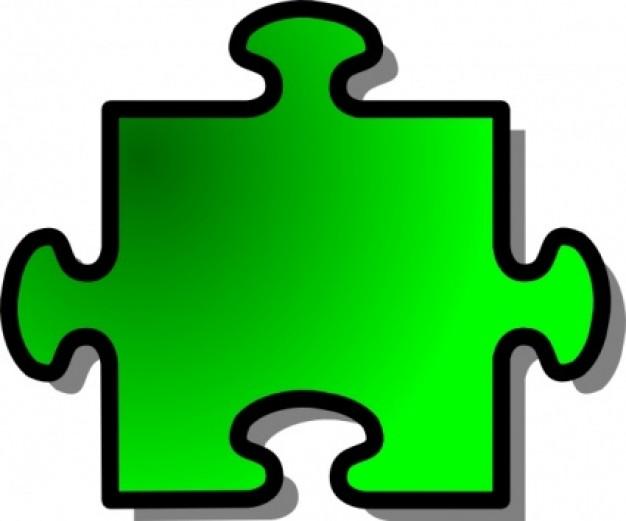 626x521 Green Jigsaw Puzzle Clip Art Clipart Panda