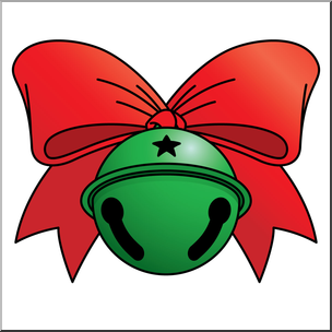 304x304 Clip Art Jingle Bell 1 Color 2 I Abcteach