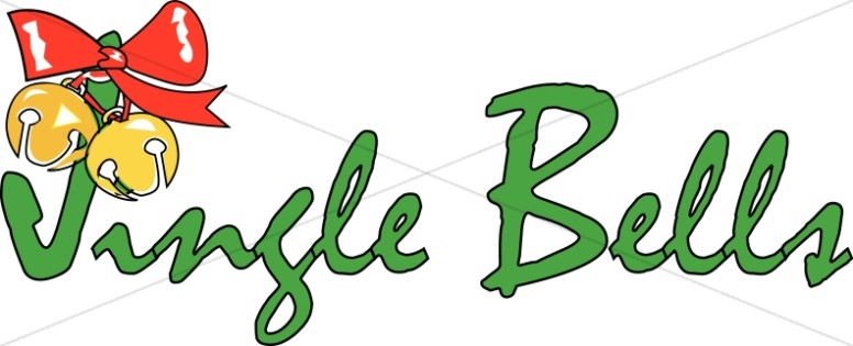 776x315 Jingle Bells And Ornament Christmas Carol Word Art