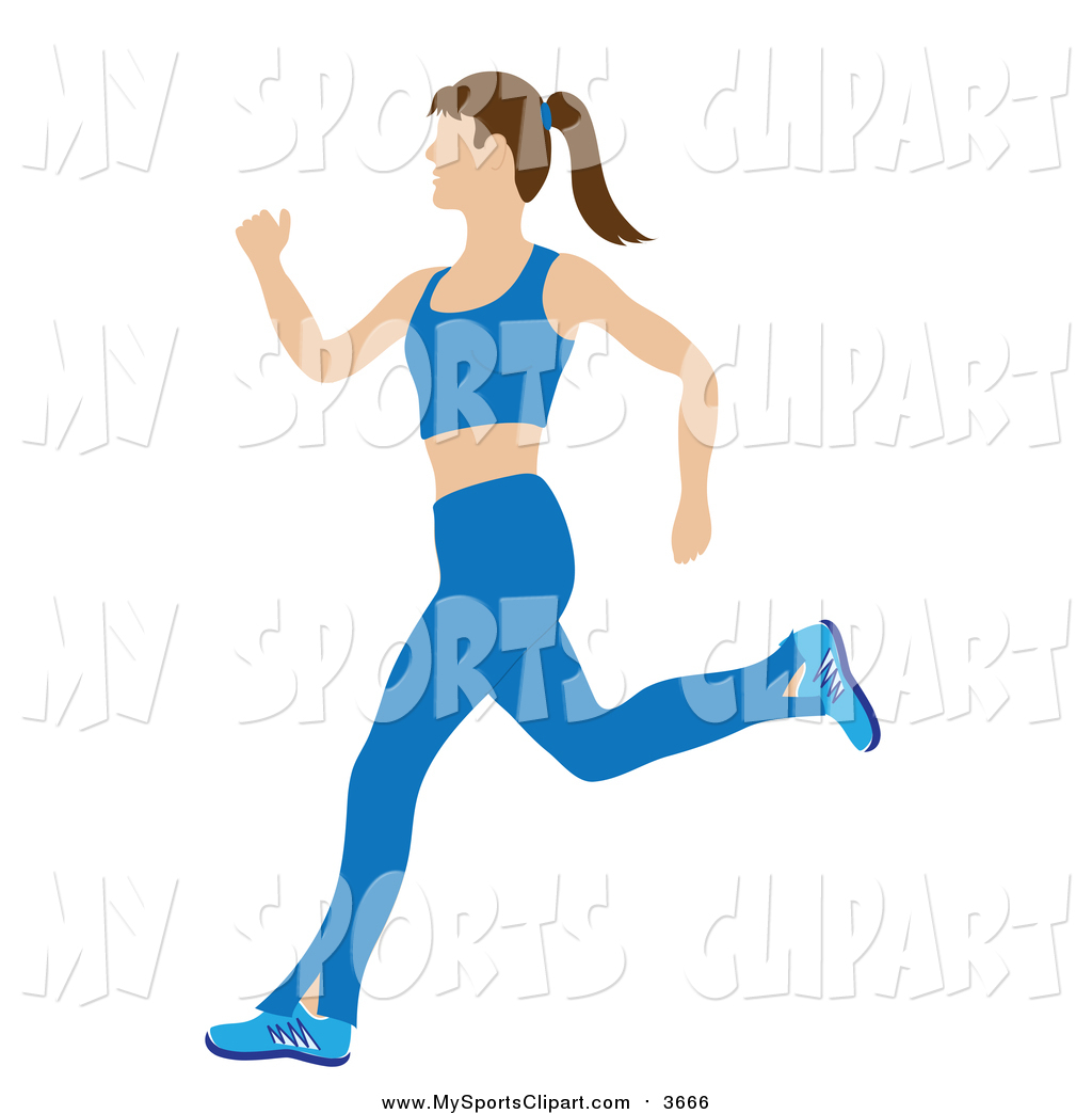 1024x1044 Sports Cliprt Of Fitnd Healthy Caucasian Woman Running In