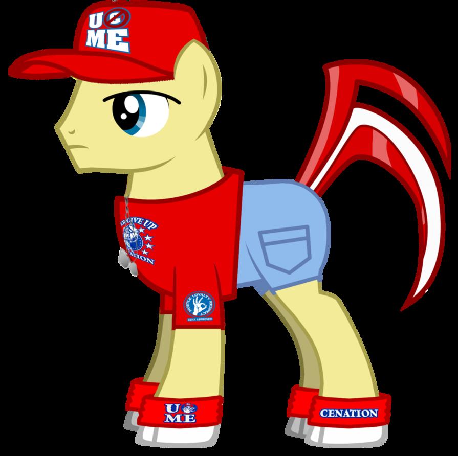 895x892 John Cena Oc Pony