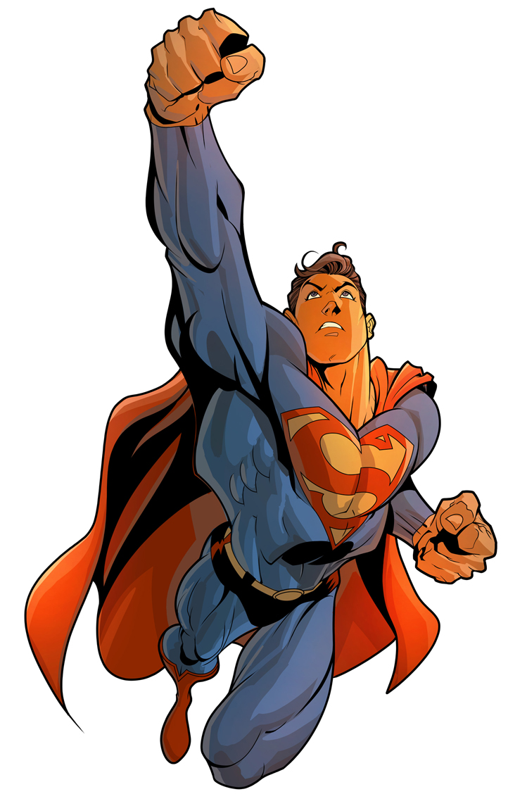 722x1145 Superman Vs Thor Vs John Cena