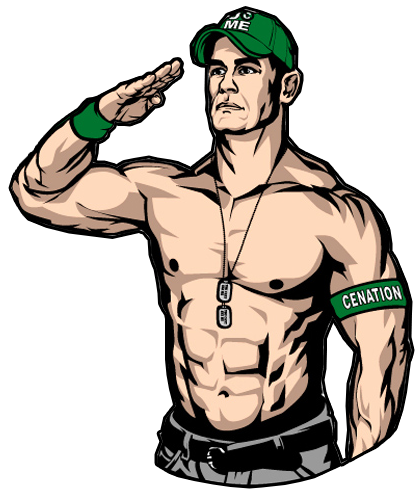 420x491 Cartoon John Cena