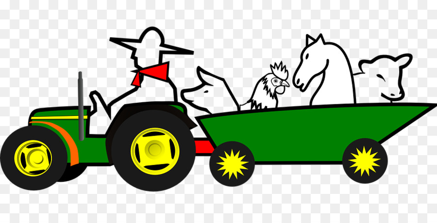 900x460 John Deere Ox Tractor Agriculture Clip Art