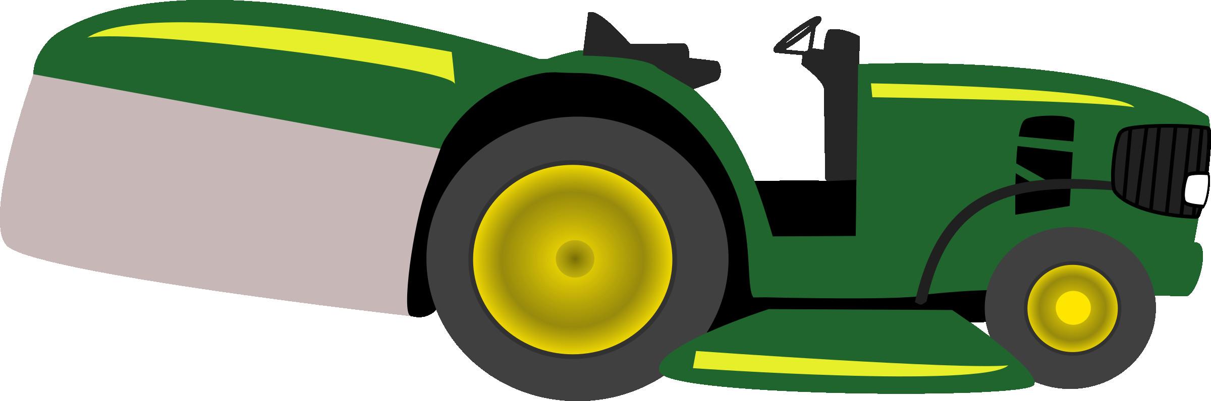 2400x796 John Deere Tractor Agriculture Clip Art Green Cliparts Png