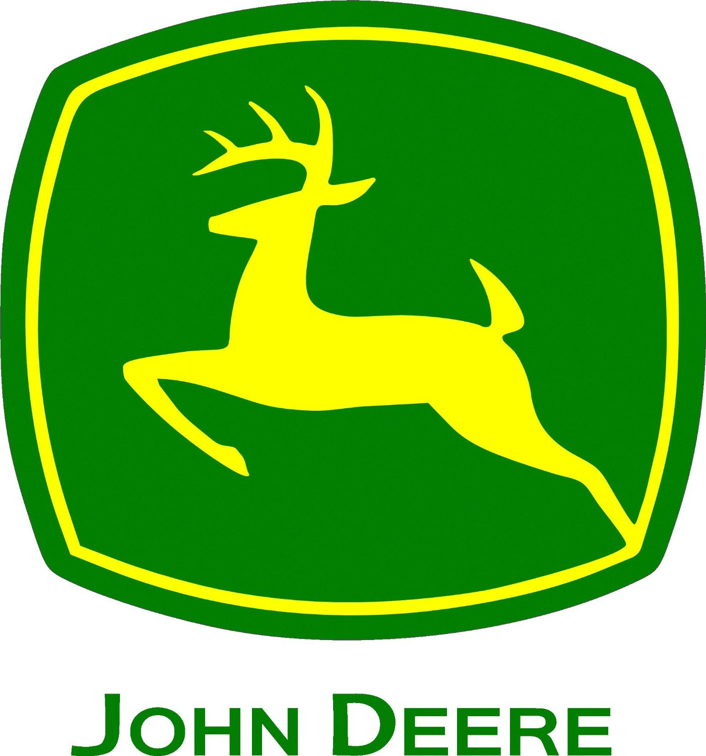 1401x1500 Collection Of John Deere Logo Clipart High Quality, Free