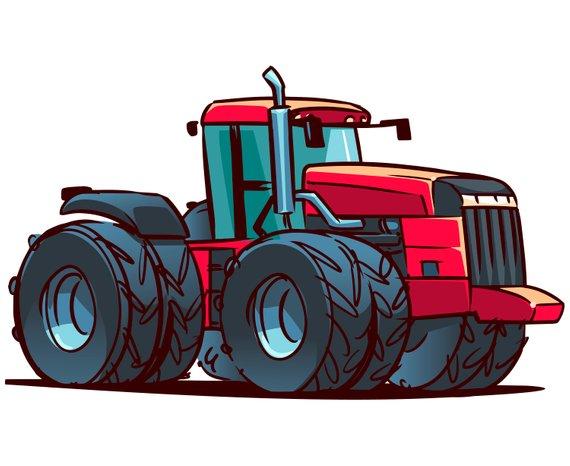 570x466 Tractor Clipart, Farm Tractor Clipart, John Deere Tractor, Farm