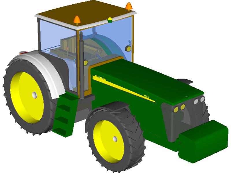800x600 Cartoon Pictures Of Tractors