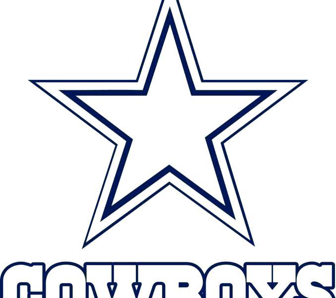 678x600 Dallas Cowboys Coloring Page Cowboys Coloring Pages Cowboys