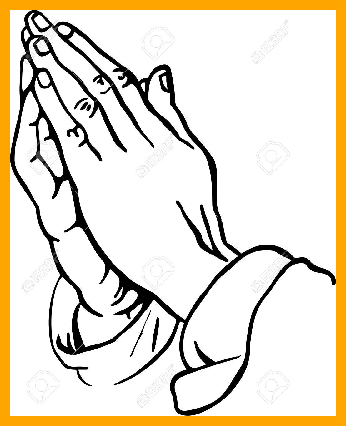 1107x1364 Shocking Ideas Praying Hands Coloring Page Children Of Trend