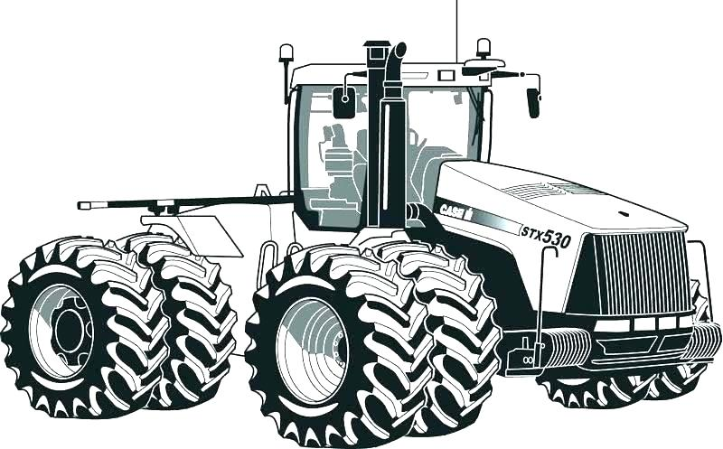 800x497 Tractor Color Pages Farm Tractor Coloring Page John Deere Tractor