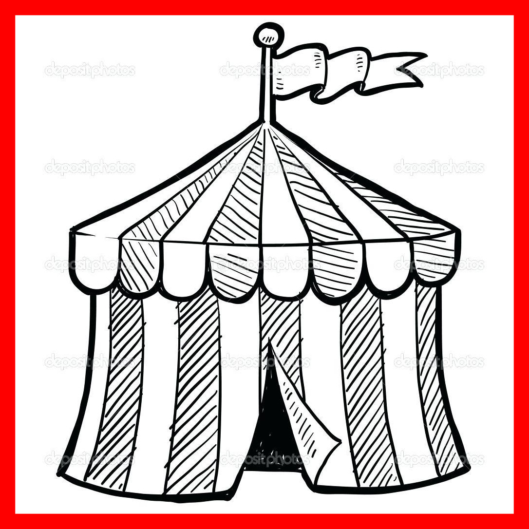 1086x1086 Astonishing Sure Fire Circus Themed Coloring Pages Carnival Sheets