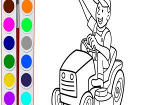 300x210 Coloring John Deere Coloring Pages In The Amazing Lawn Mower